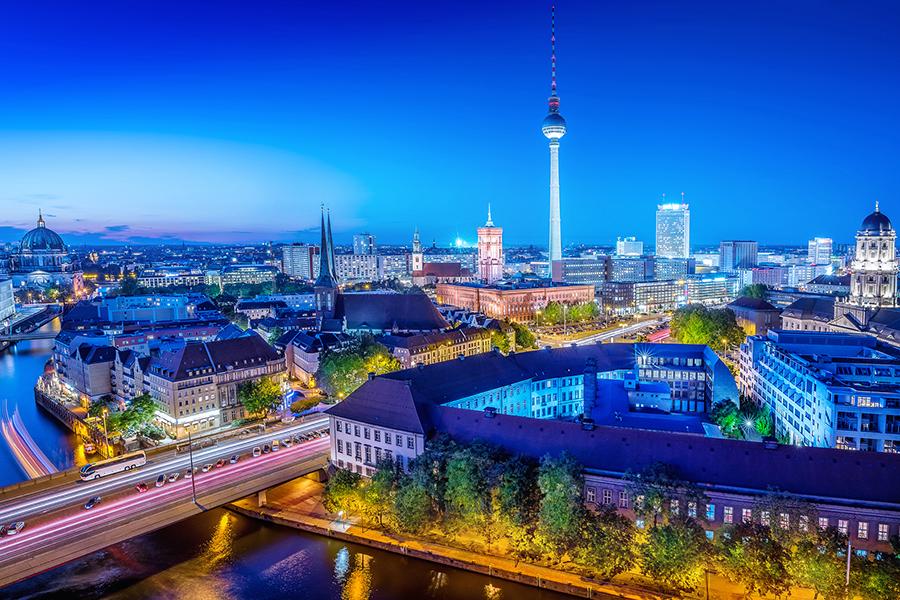 Übernachtung in Berlin