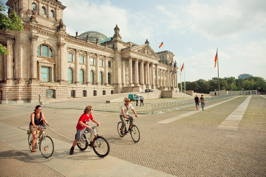 Radfahrerhotel in Berlin